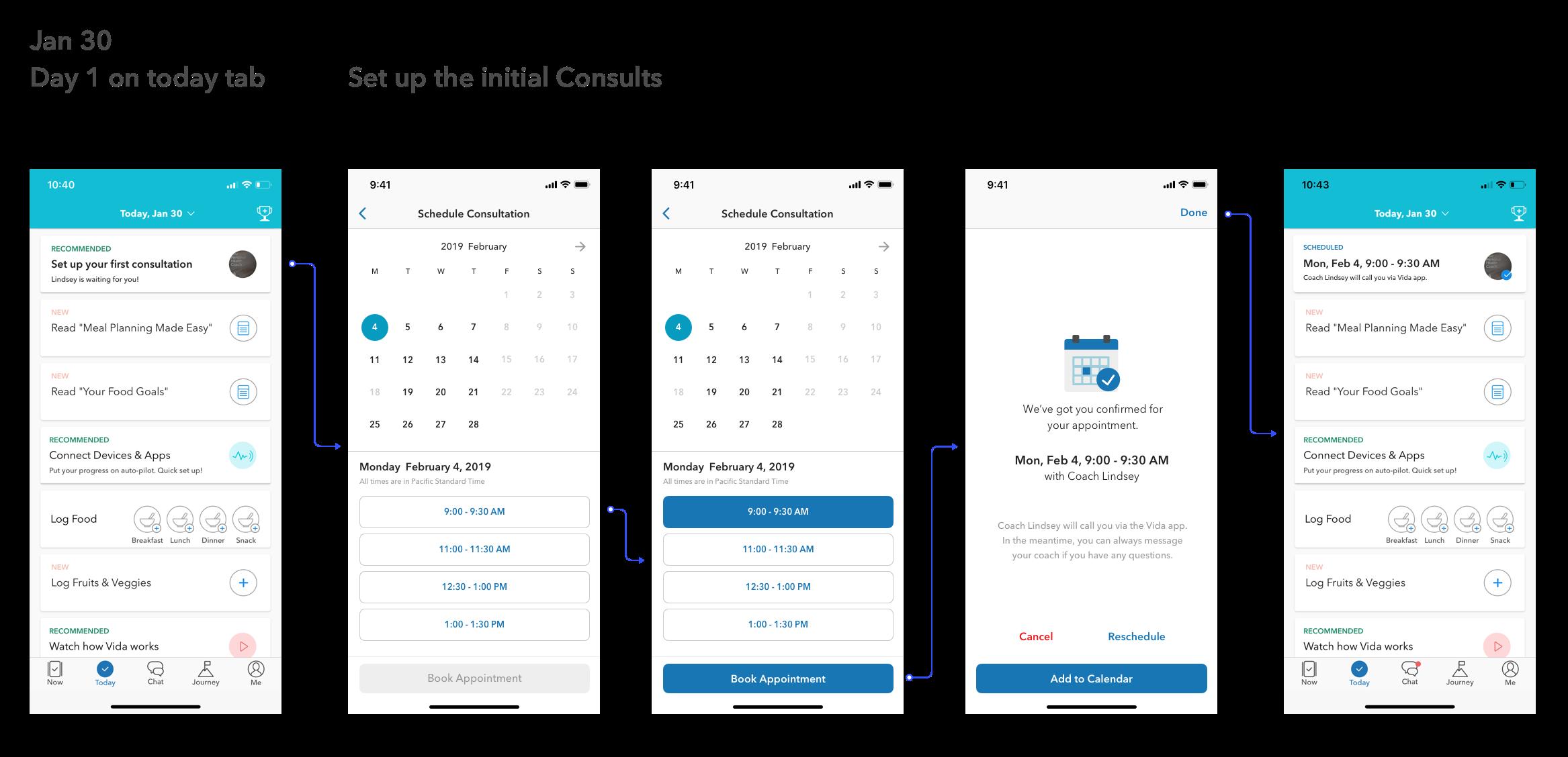 Consultation Scheduling