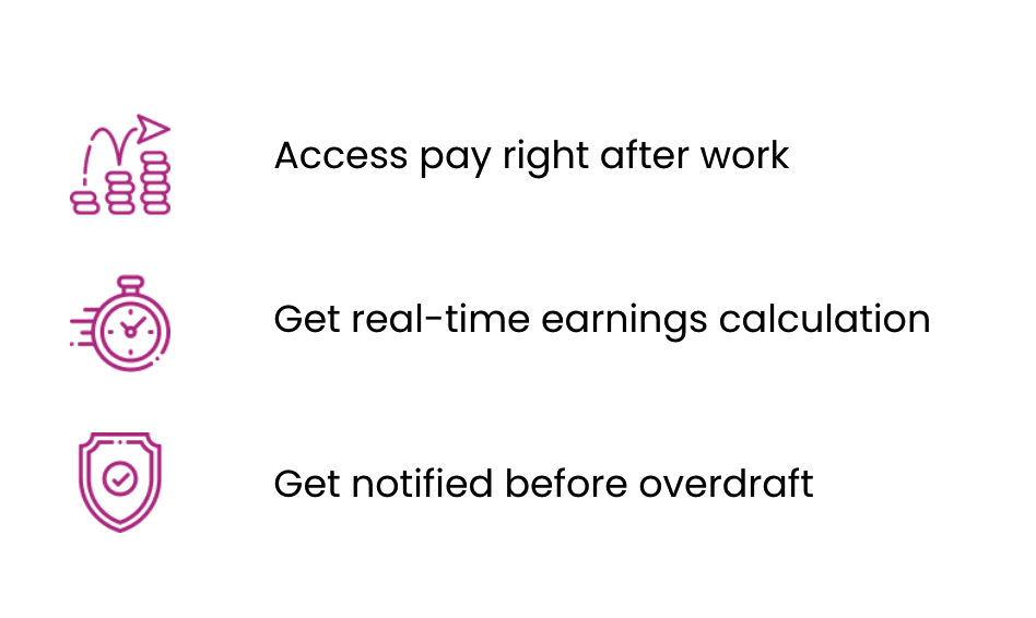 Showing benefits users can get by educational copy